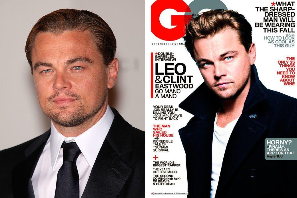 Нереально красивые: Знаменитые мужчины  до и после фотошопа. Изображение № 12.