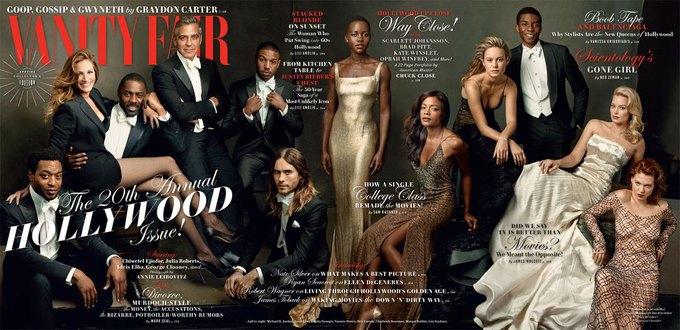 Равноправие на «голливудской» обложке Vanity Fair. Изображение № 1.