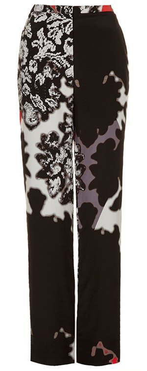Широкие брюки в осенне-зимних коллекциях. Изображение № 20.