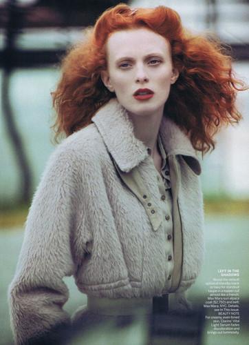 Модели с рыжими волосами