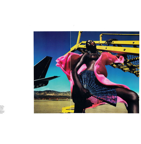 Тёмные силы: 10 чернокожих моделей. Изображение № 45.