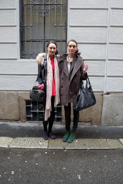 Изображение 14. Milan Fashion Week: день пятый – луки.. Изображение № 16.