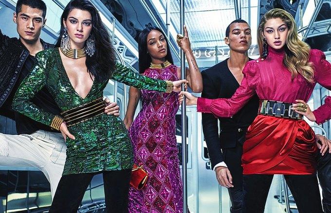 Balmain и H&M показали совместную коллекцию. Изображение № 5.