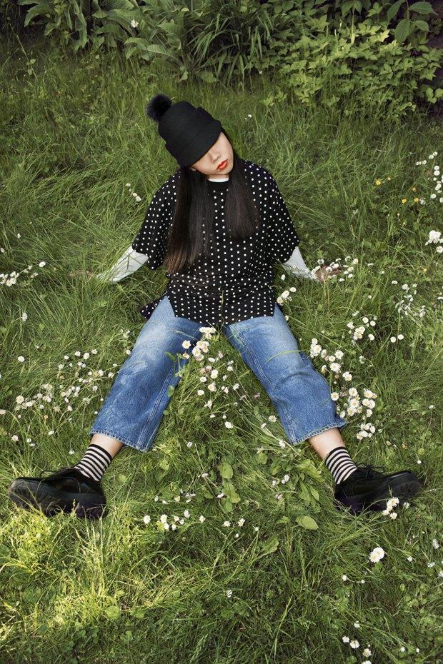 Блогер Сьюзи Баббл стала лицом линейки денима Monki. Изображение № 2.