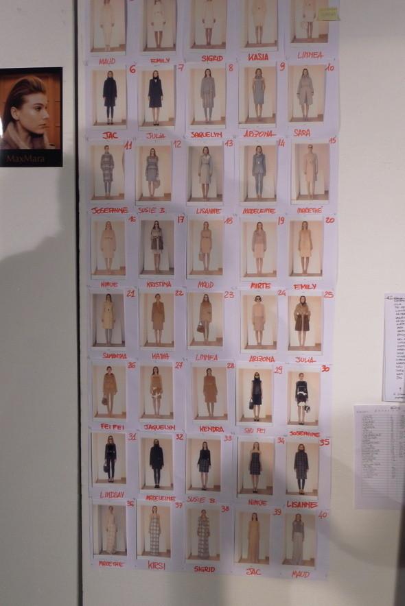 Изображение 15. Milan Fashion Week: бэкстейдж показа Max Mara.. Изображение № 11.