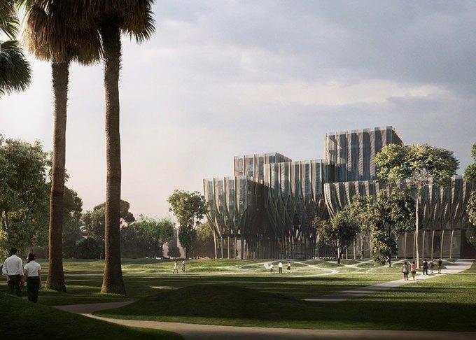 Заха Хадид спроектировала мемориальное здание  в Камбодже. Изображение № 2.