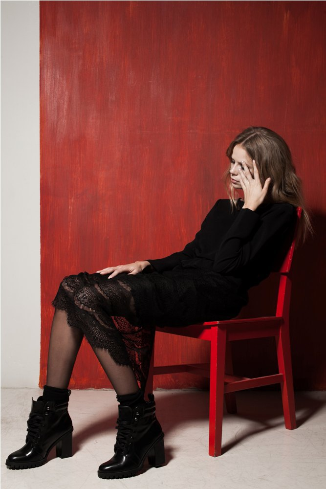 Платья и юбки в бельевом стиле в лукбуке Daria Bardeeva . Изображение № 6.