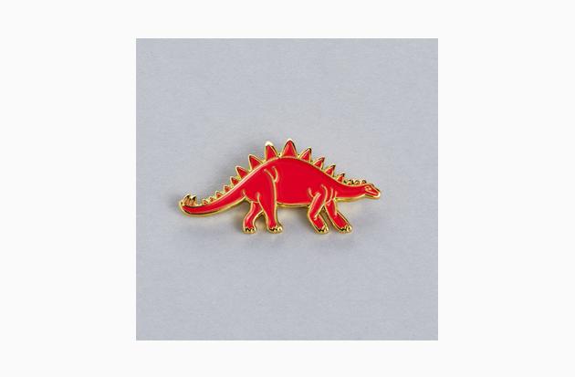 Альберт и друзья: Значки «Подписных изданий»  с динозаврами. Изображение № 2.