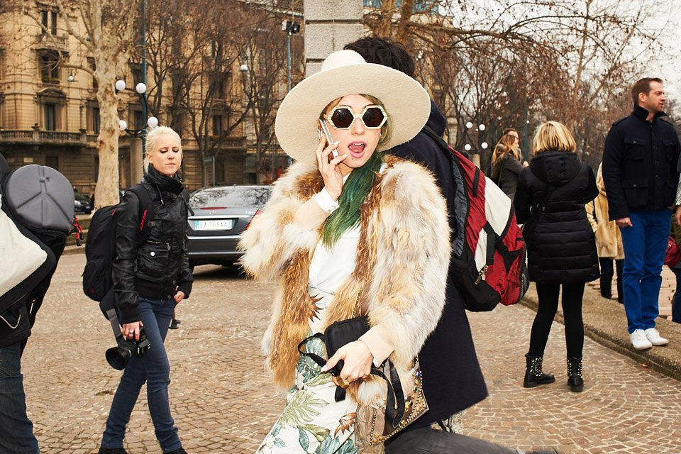 Стритстайл: Неделя моды в Милане,  часть III. Изображение № 33.