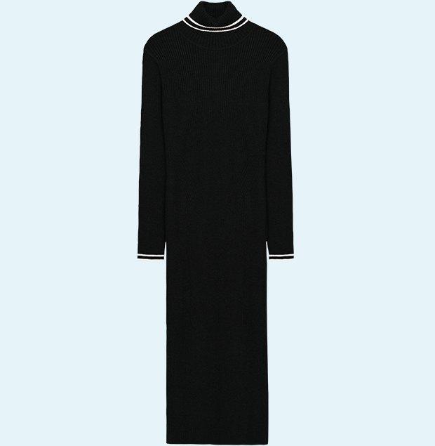 Трикотажные платья в рубчик: От простых до роскошных. Изображение № 2.