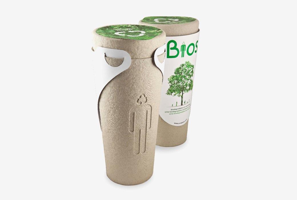 Урна для праха Bios,  из которой можно вырастить дерево. Изображение № 1.