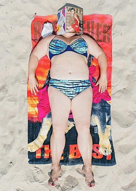 «Зона комфорта»:  Расслабленные люди на пляже. Изображение № 14.