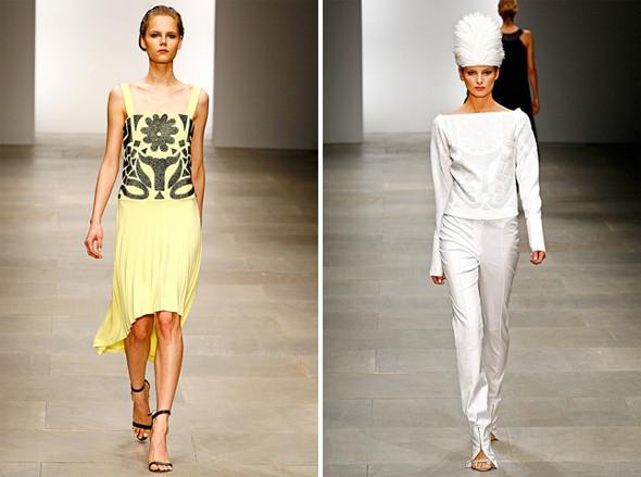 Показы на London Fashion Week SS 2012: День 5. Изображение № 4.