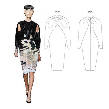 Эскизы коллекции участницы Fashion Scout Kiev Дины Линник . Изображение № 2.