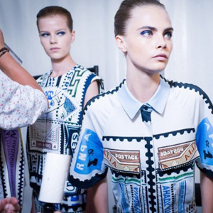 Парижская неделя моды: Показы Kenzo, Celine, Hermes, Givenchy, John Galliano. Изображение № 40.