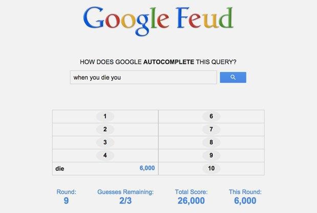 «Google Feud»: викторина  по популярным поисковым запросам. Изображение № 10.