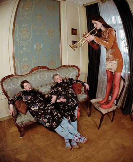 Съёмка Юлдус Бахтиозиной для Naya Rea по мотивам пьесы «Три сестры». Изображение № 7.