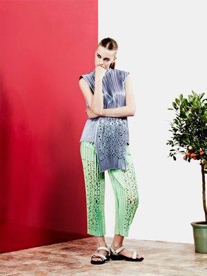 Плиссе и плетение из цветной кожи Martina Spetlova . Изображение № 3.