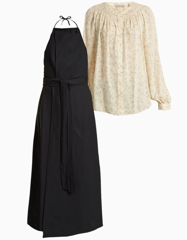 Комбо: Сарафан с блузкой. Изображение № 1.