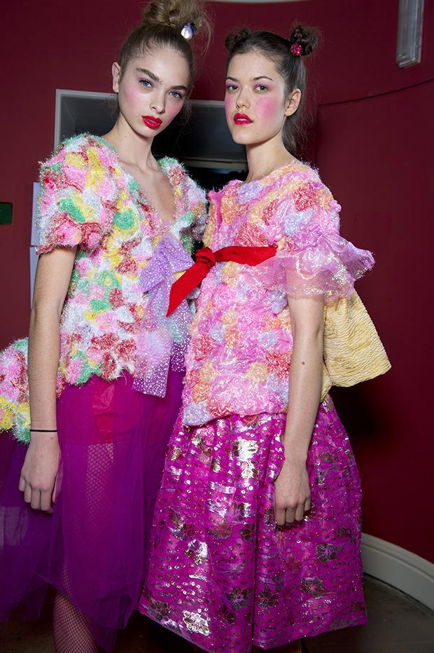 Неделя моды в Лондоне: Бэкстейджи. Изображение № 15.