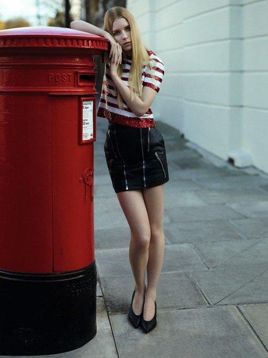 Младшая сестра Кейт Мосс дебютировала в Dazed & Confused. Изображение № 1.