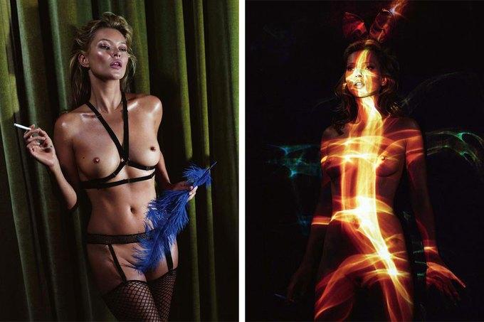 Кейт Мосс снялась для юбилейного номера Playboy. Изображение № 7.