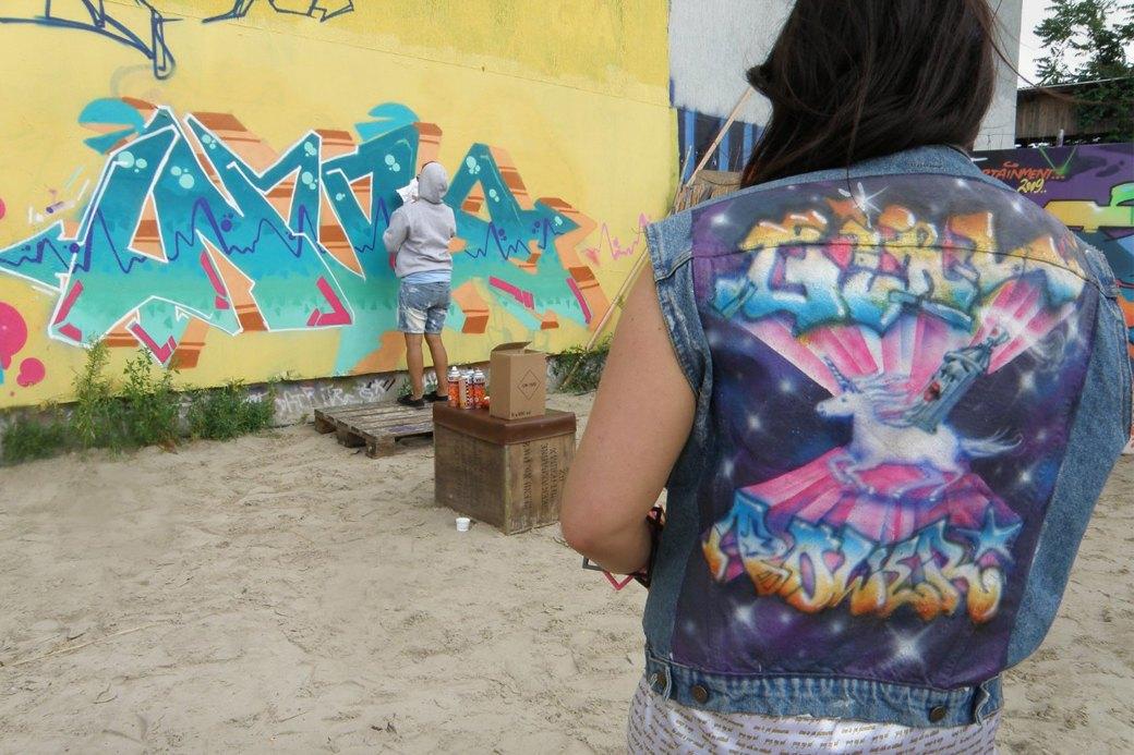Граффити-художница Sany о фильме «Girl Power», двойной жизни и свободе. Изображение № 4.
