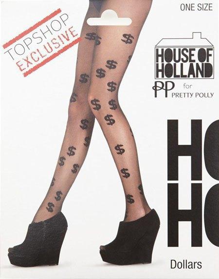 Генри Холланд создал колготки с принтами для Topshop. Изображение № 3.