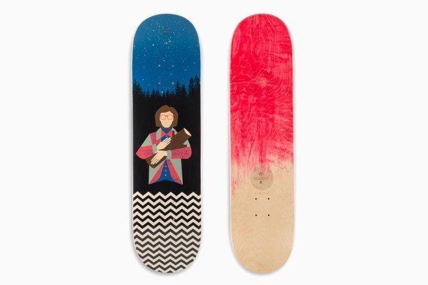 Скейтборды по мотивам «Твин Пикса». Изображение № 2.