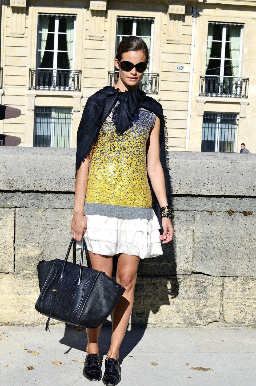 Парень в камуфляже, девушка-Микки-Маус и другие гости Paris Fashion Week. Изображение № 31.
