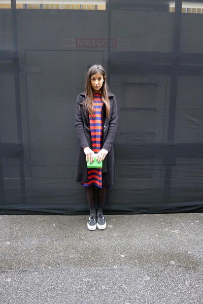 Изображение 12. Milan Fashion Week: день пятый – луки.. Изображение № 12.