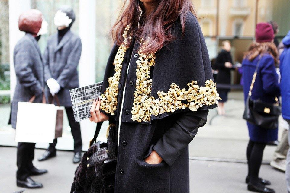 Анна Делло-Руссо, Элеонора Каризи и другие гости Миланской недели моды. Изображение № 1.