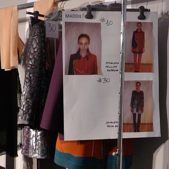 Изображение 45. Milan Fashion Week: бэкстейдж Alberta Ferretti.. Изображение № 44.