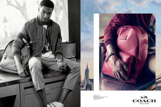 Хлоя Морец и Kid Cudi снялись в рекламной кампании Coach. Изображение № 6.