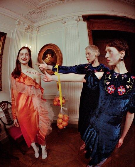 Съёмка Юлдус Бахтиозиной для Naya Rea по мотивам пьесы «Три сестры». Изображение № 16.