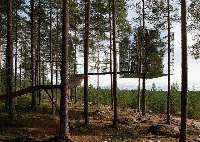 Рай в шалаше: 10 европейских глэмпингов. Изображение № 1.