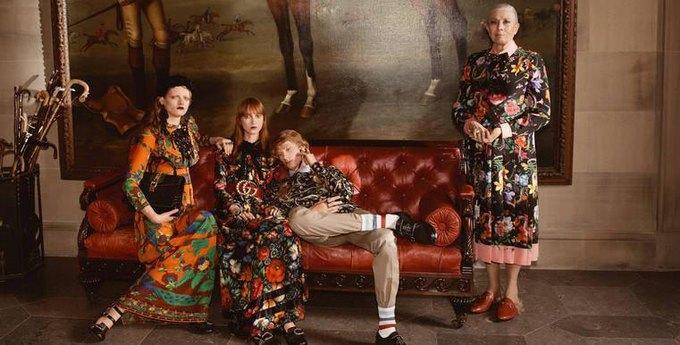 Gucci выпустили кампанию с Ванессой Редгрейв. Изображение № 1.