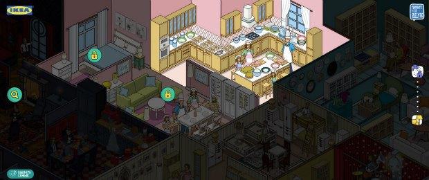 В квартире Выпекайкиных можно поиграть в игру. Изображение № 2.