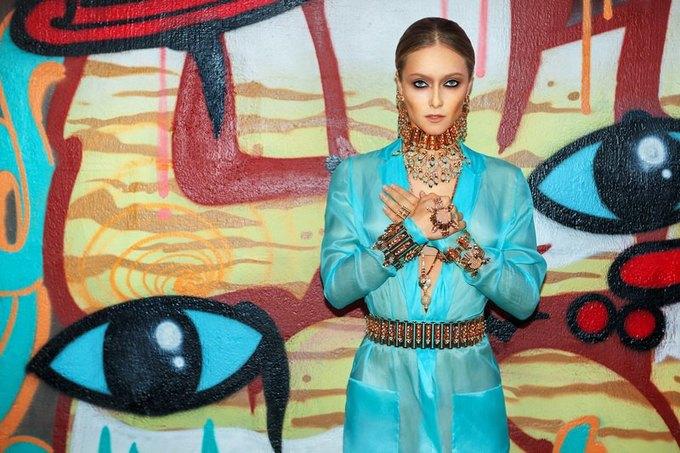 Дарья Шаповалова в новой кампании украшений Mawi. Изображение № 3.