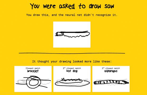 Quick, Draw!: Google пытается угадать, что вы нарисовали. Изображение № 3.