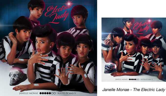 Девочки-музыканты воссоздали обложки знаменитых альбомов. Изображение № 2.
