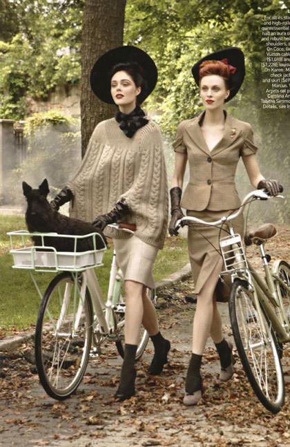 Ах, лето: Фэшн-съемки с велосипедами. Изображение № 7.