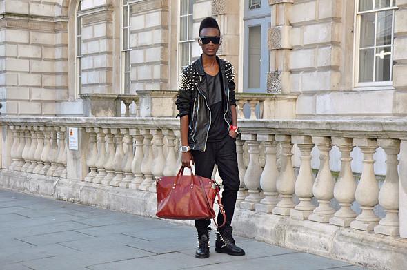 London Fashion Week: Уличный стиль, часть 3. Изображение № 20.