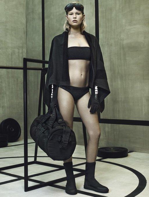 Торжество спорта  в лукбуке Alexander Wang x H&M. Изображение № 8.