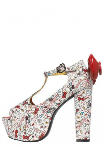 Jeffrey Campbell посвятили коллекцию обуви Hello Kitty. Изображение № 2.