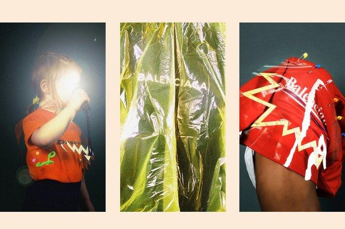 Balenciaga показали яркую детскую коллекцию. Изображение № 2.