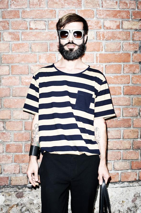 Стрит-стайл: Неделя мужской моды в Милане. Изображение № 1.