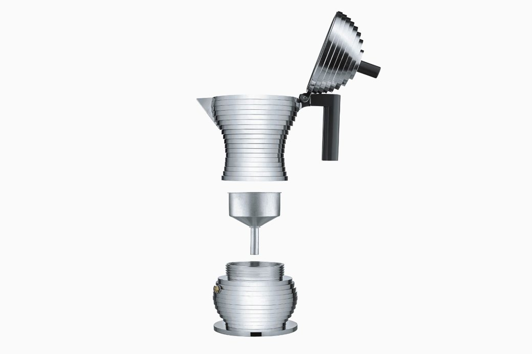 Гейзерная кофеварка  Alessi Pulcina. Изображение № 2.