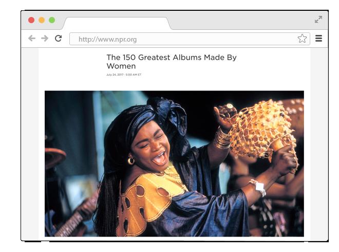 В закладки: 150 лучших альбомов, записанных женщинами. Изображение № 1.