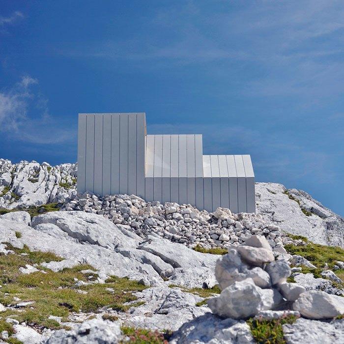 Горное убежище для хайкеров и альпинистов. Изображение № 8.